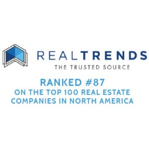 RealTrends Ranked #87 on the Top 100 Real Estate Companies in North America
